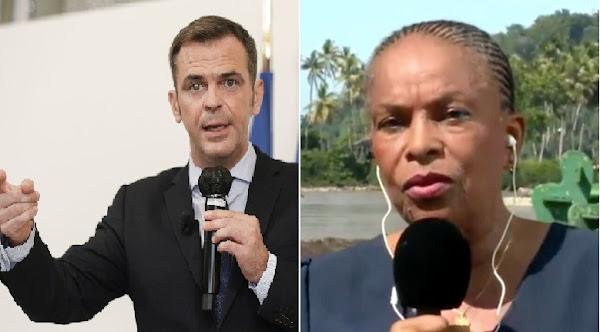 Vaccination en Guyane : Olivier Véran dénonce la «lâcheté» de Christiane Taubira