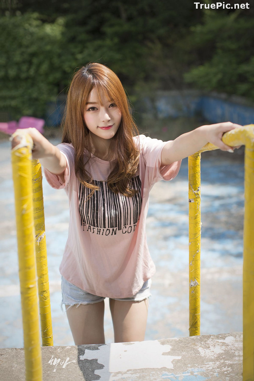 Image Korean Cute Model - Ji Yeon - You Can Follow Me - TruePic.net - Picture-2