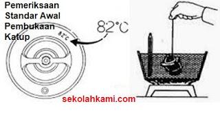 cara memeriksa thermostat