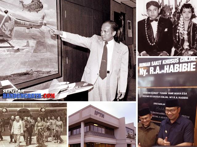 Bandung dalam Kisah Perjalanan Hidup BJ Habibie, dari IPTN Sampai RS Ginjal