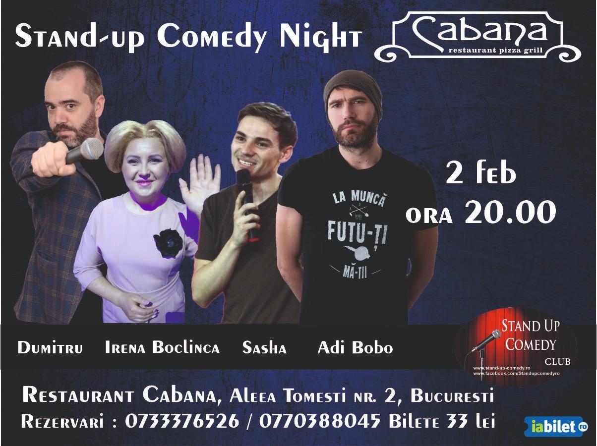 stand-up comedy duminica Bucuresti