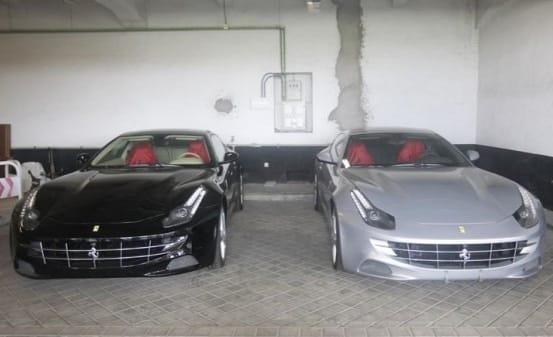 Felipe VI sería beneficiario de uno de los Ferrari de Mohammed bin Zayed Al-Nahyan en 2011