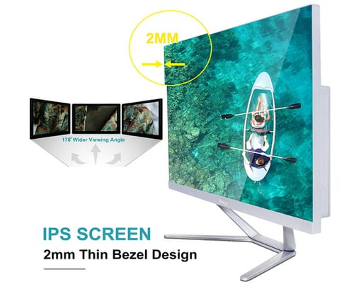 Baieyu IPS 23.8 inch FHD Touchscreen All-in-One PC
