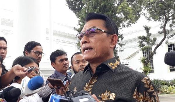 Moeldoko Imbau Semua Pihak Tahan Diri Tak Demo Saat Pelantikan Jokowi