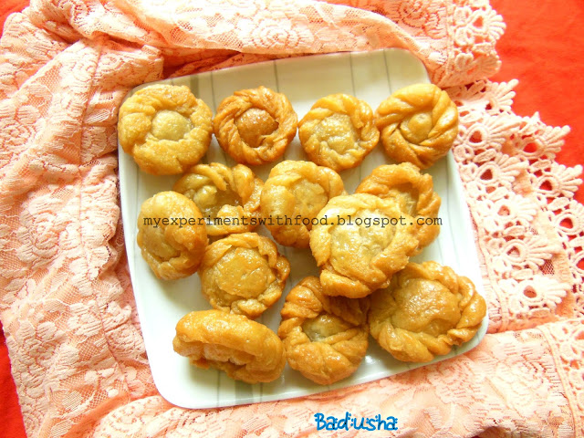 Badusha- A sweet dish..