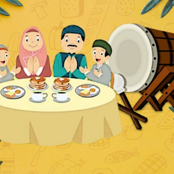 Berbuka puasa bersama keluarga atau temen
