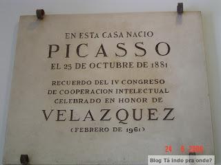 casa natal de Picasso em Málaga