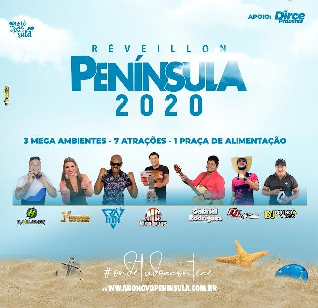 """Melhor Réveillon do Maranhão será no """"Parque Aquático Península"""" em Lima Campos"""