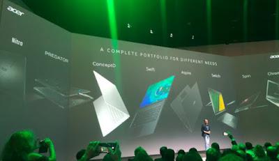 تعرف علي سلسلة Acer ConceptD Pro و Predator Triton 300 و Swift 5 Laptops وأجهزة Chromebook الجديدة التي تم إطلاقها في IFA 2019