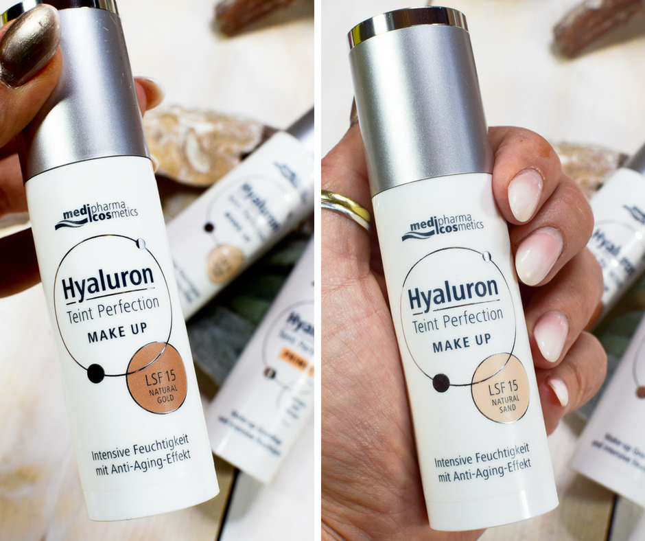 Medipharma Cosmetics Hyaluron Teint Perfection Make up Review und Swatch