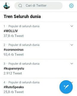 5 Cara Melihat Trending Topic Dunia Di Twitter (Viral)