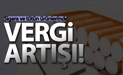 Sigara ÖTV zammı