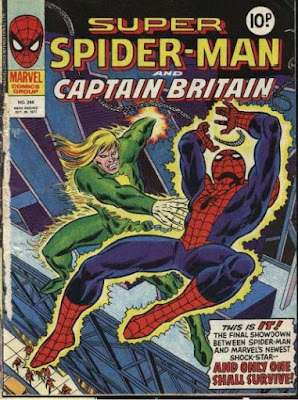 Super Spider-Man and Captain Britain #246, Will o' the Wisp