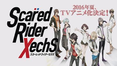 Adattamento anime per Scared Rider Xechs
