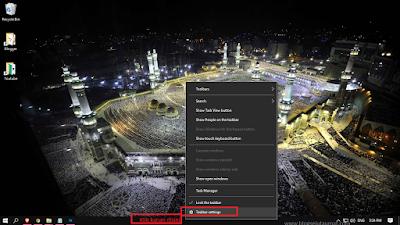 Cara Menyembunyikan dan Menampilkan Taskbar Windows 10