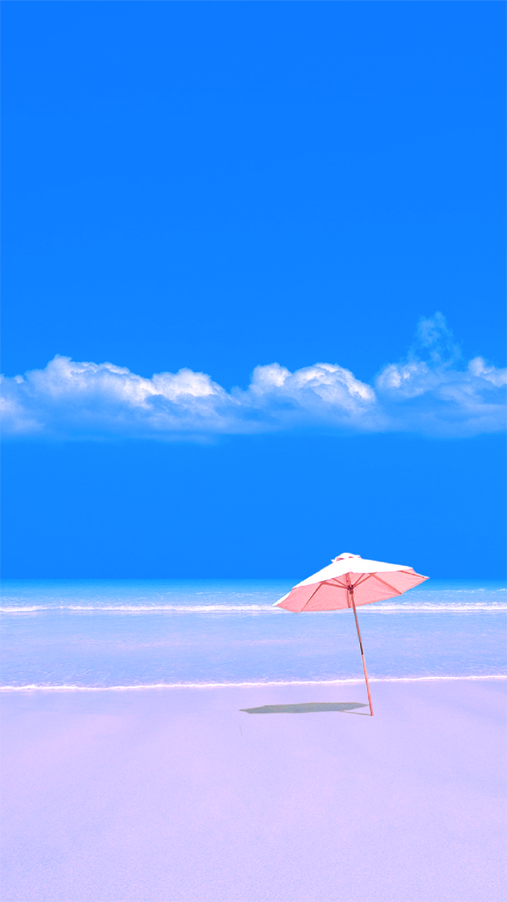 Samsung Galaxy J7 Wallpapers: Free Wallpaper Phone: Beach Umbrella Wallpaper Samsung