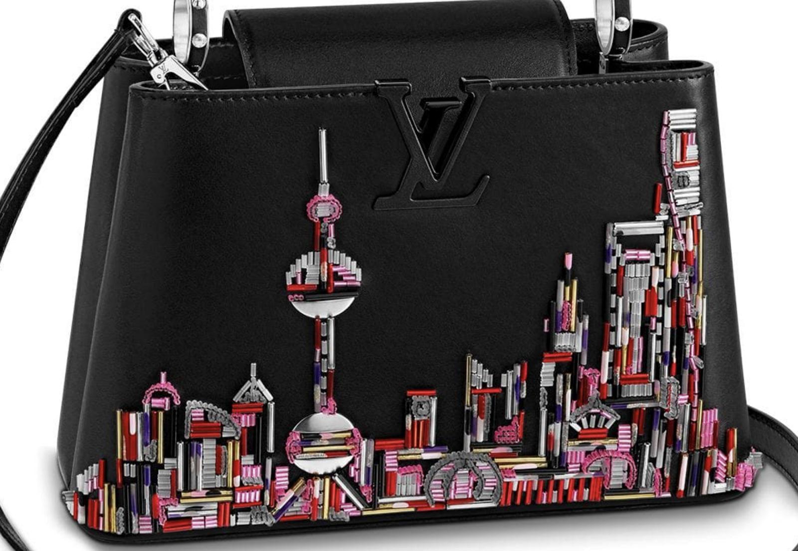 Princess Charlene Wears a Louis Vuitton Capucines bag o Open Princess Grace Exhibition in Macau