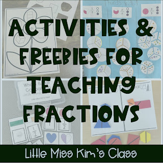Activities and Freebies for Teaching Fractions