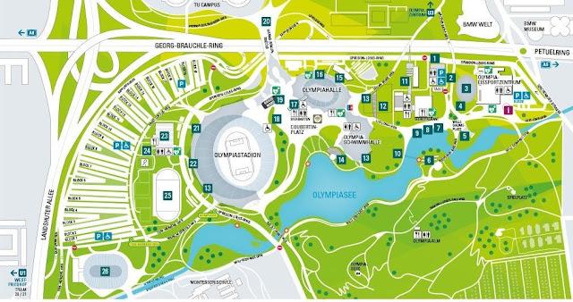 Olympiapark München Olympiastadion Olympiastadion from Olympiastadion münchen karte,