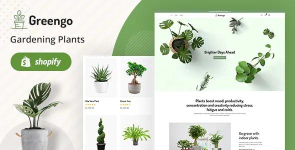 Best Organic Garden, Plant Shop Shopify Theme