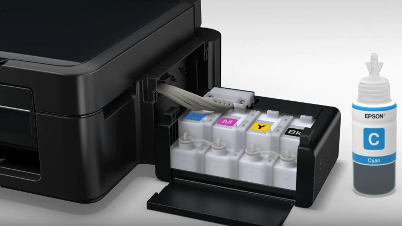 Cara Reset Printer Epson L210 Tanpa Mengeluarkan Modal