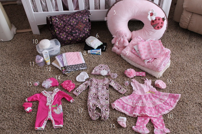 What To Pack In Your Baby S Hospital Bag Mommy S Little