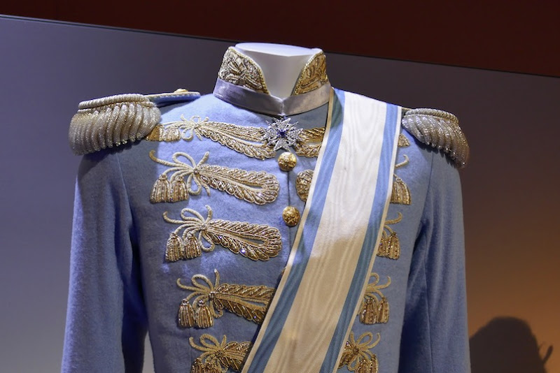 Cinderella Prince Charming wedding costume detail