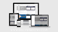 BSW Flat Blogging - Responsive Template for Blogspot