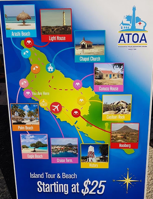 Passeio realizado em Aruba - Cruzeiros marítimos: tudo sobre viagem de navio