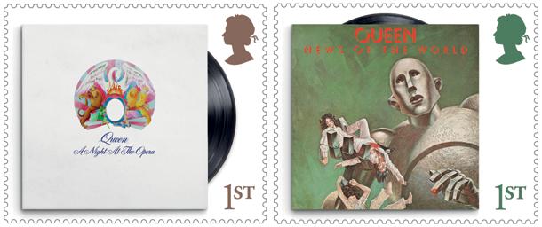 Queen Stamps 2