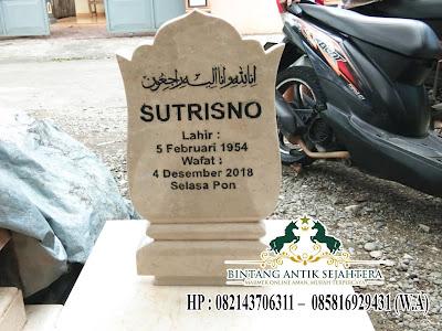 Nisan Kuburan Marmer
