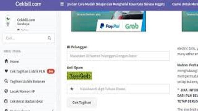Cara Cek Rekening Listrik Online & Cara Cek Tagihan Listrik Lewat HP