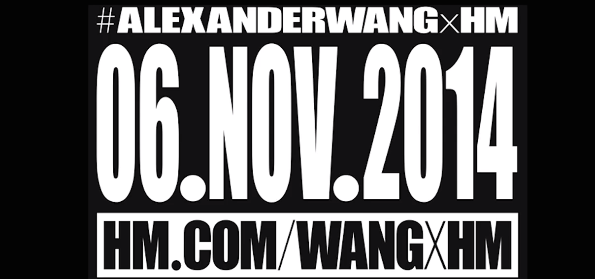 Alexander Wang x H&M Launch