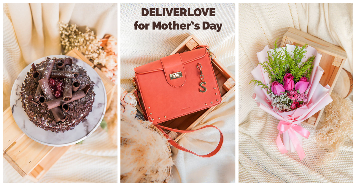 get the best gifts for mum this mother's day with deliverlove