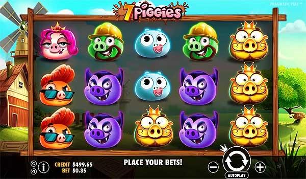 Main Gratis Slot Indonesia - 7 Piggies (Pragmatic Play)