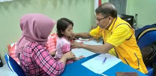Lions Club Centennial MH Thamrin Jakarta Terjunkan 8 Dokter untuk Kegiatan Baksos dan Pengobatan Gratis