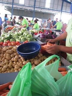 Farmer's Market in Puriscal