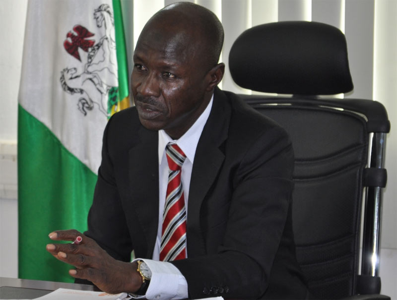 I will continue fighting corruption - EFCC boss, Magu