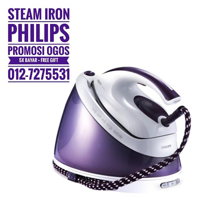 Promosi September Steam Iron Philips
