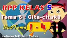RPP Kelas 5 Tema 6 Cita-citaku Subtema 1-4 K13 Revisi 2019