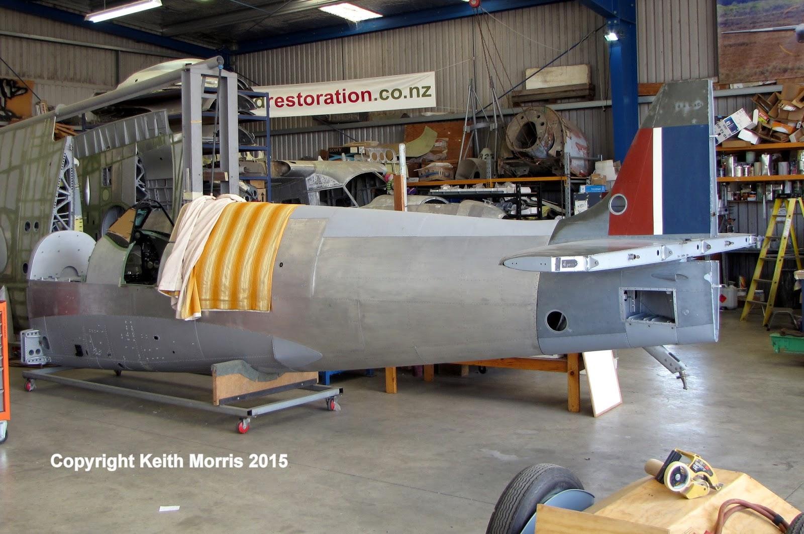 NZ Civil Aircraft: Another Spitfire at Avspecs 10-8-2015