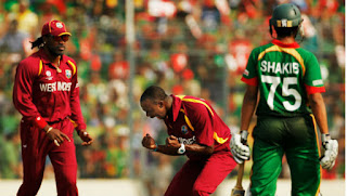 Bangladesh vs West Indies 19th Match ICC Cricket World Cup 2011 Highlights