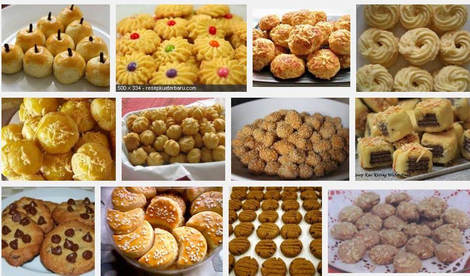 Aneka Resep Kue Kering Yang Praktis Dan Sederhana Terpopuler