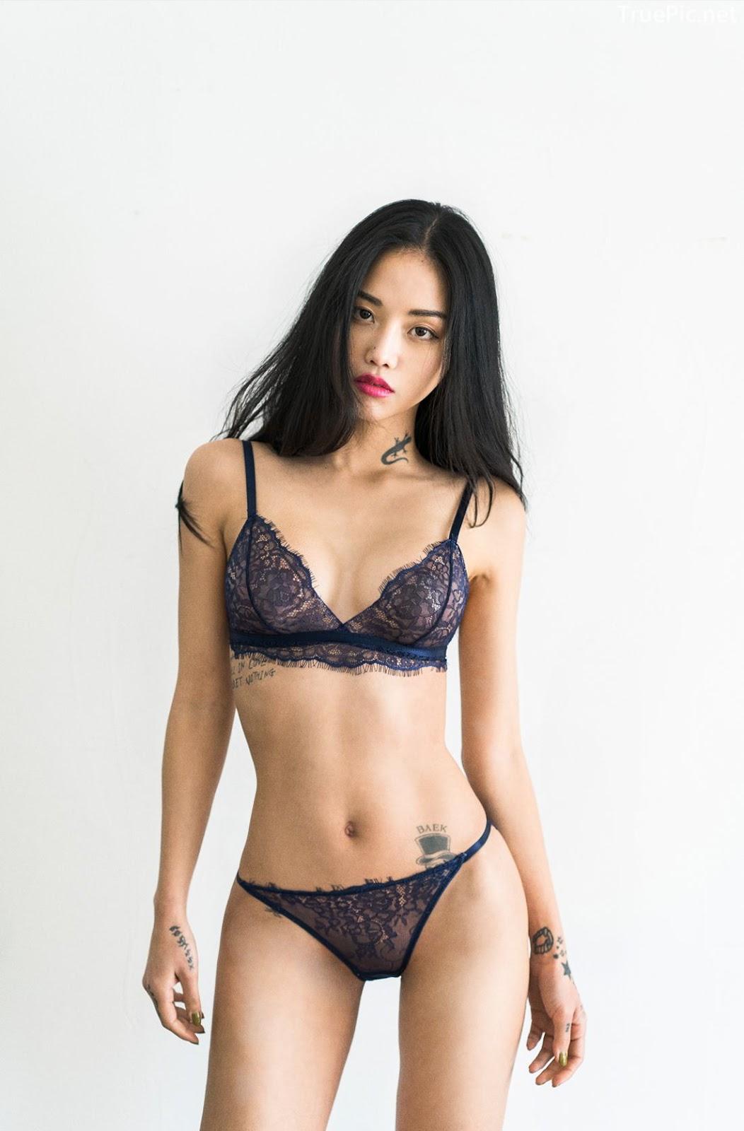 Korean Fashion Model - Baek Ye Jin - Sexy Lingerie Collection - TruePic.net - Picture 2