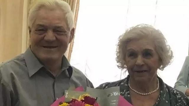 92-летняя невеста из Тюмени вышла замуж за 70-летнего жениха