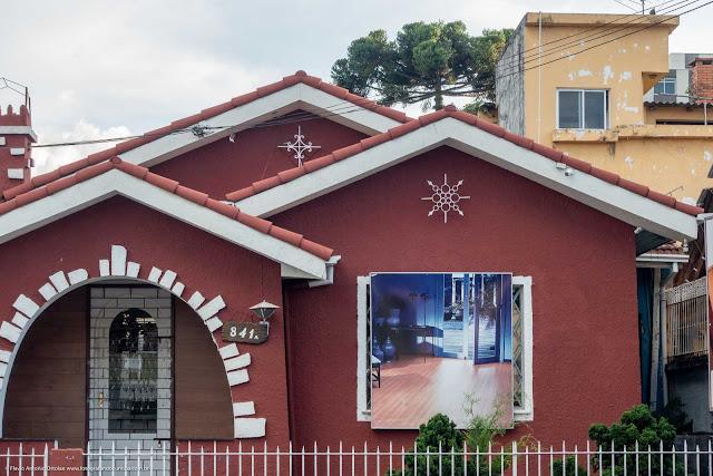 Casa na Rua Inácio Lustosa - detalhe ornamentos de ferro