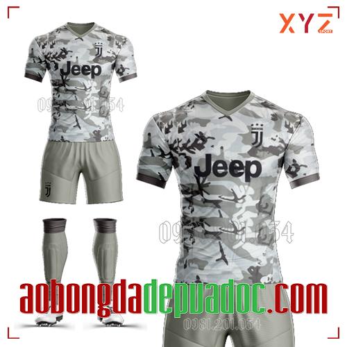 Áo Juventus 2020 Training 2 Màu Xám Đẹp Và Độc