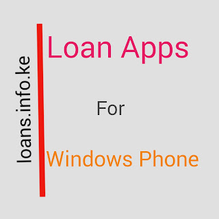 Windows phones generation will have to wait a bit for loan apps