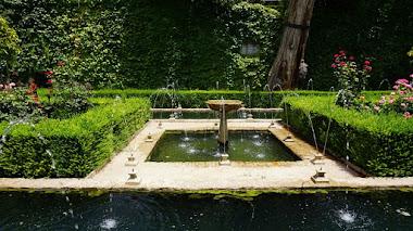 Los jardines y patios de la Alhambra y Generalife, nuevo destino de Jardines con Historia