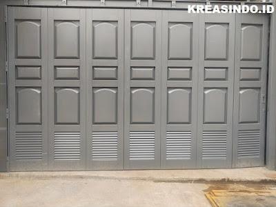 13+ Model Pintu Garasi Besi Terbaru yang Elegan dan Paling Menarik
